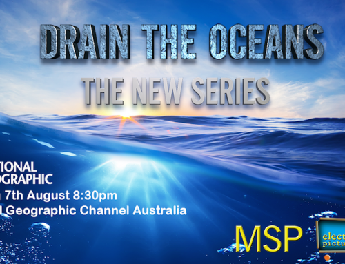 Australian Premiere of Drain The Oceans on National Geographic Channel