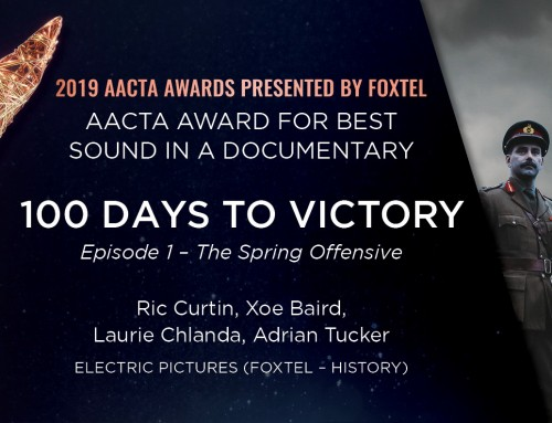 100 Days To Victory – AACTA Awards 2019